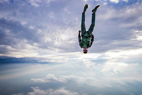 Orange Skydive